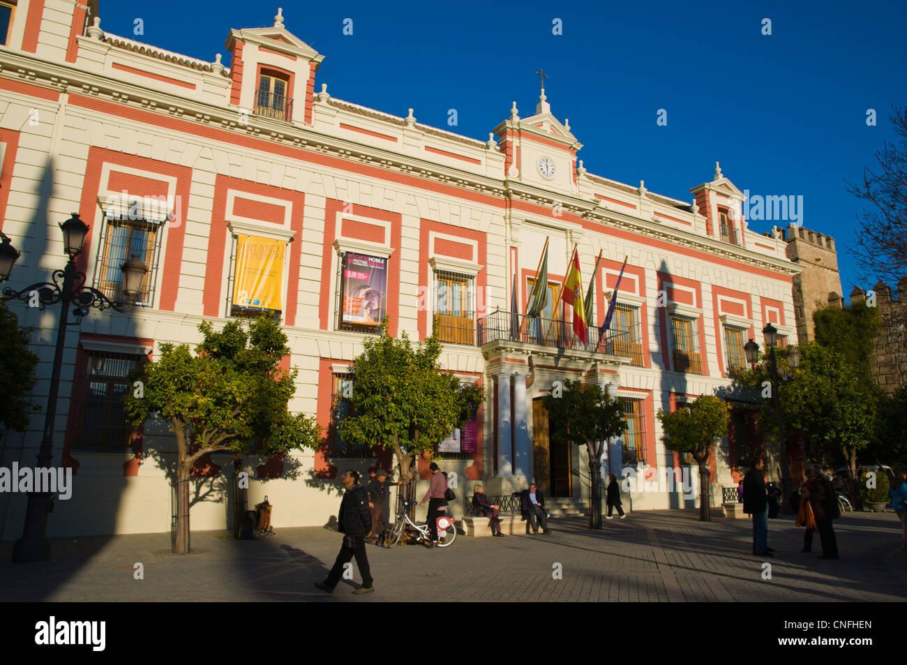 Casa de la Provincia en la Plaza del Triunfo square eville Andalucía España Imagen De Stock