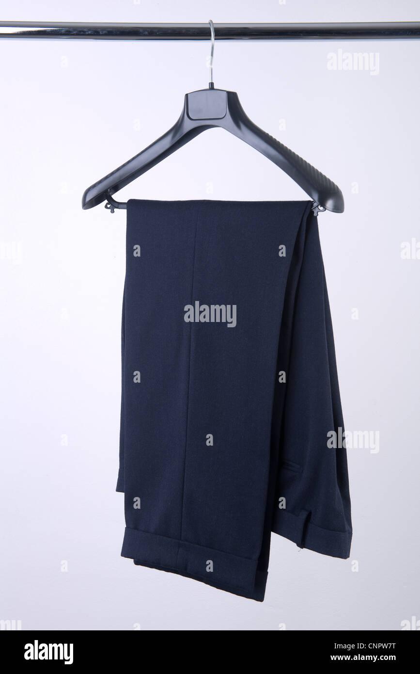 La percha pantalones Foto de stock