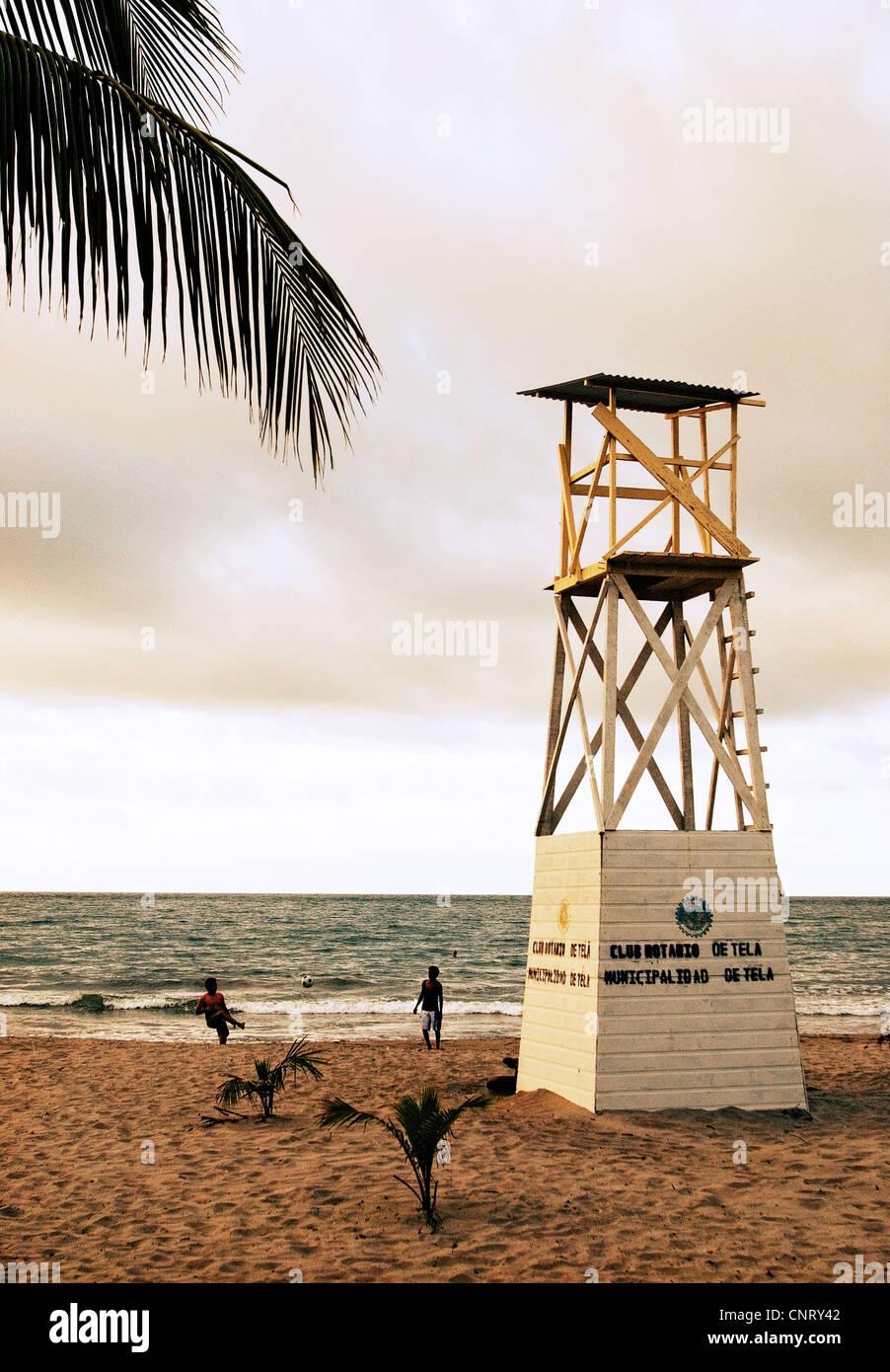 Playa de tela. Imagen De Stock