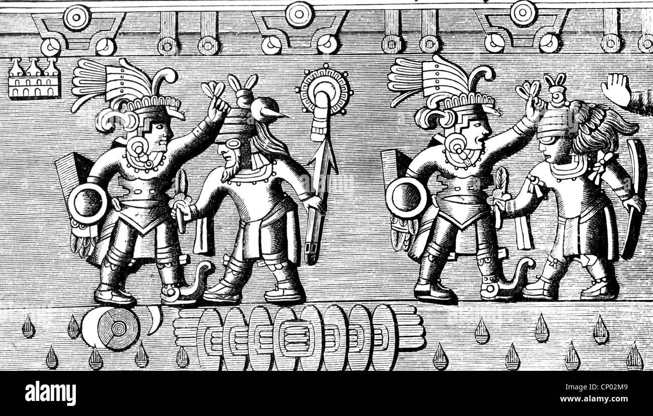 Geografía Viajes México Gente Guerreros Aztecas Haciendo