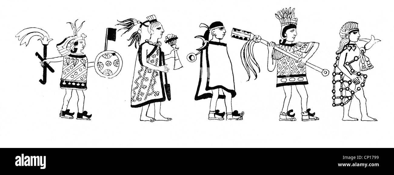 Aztec Warrior Imágenes De Stock & Aztec Warrior Fotos De Stock - Alamy