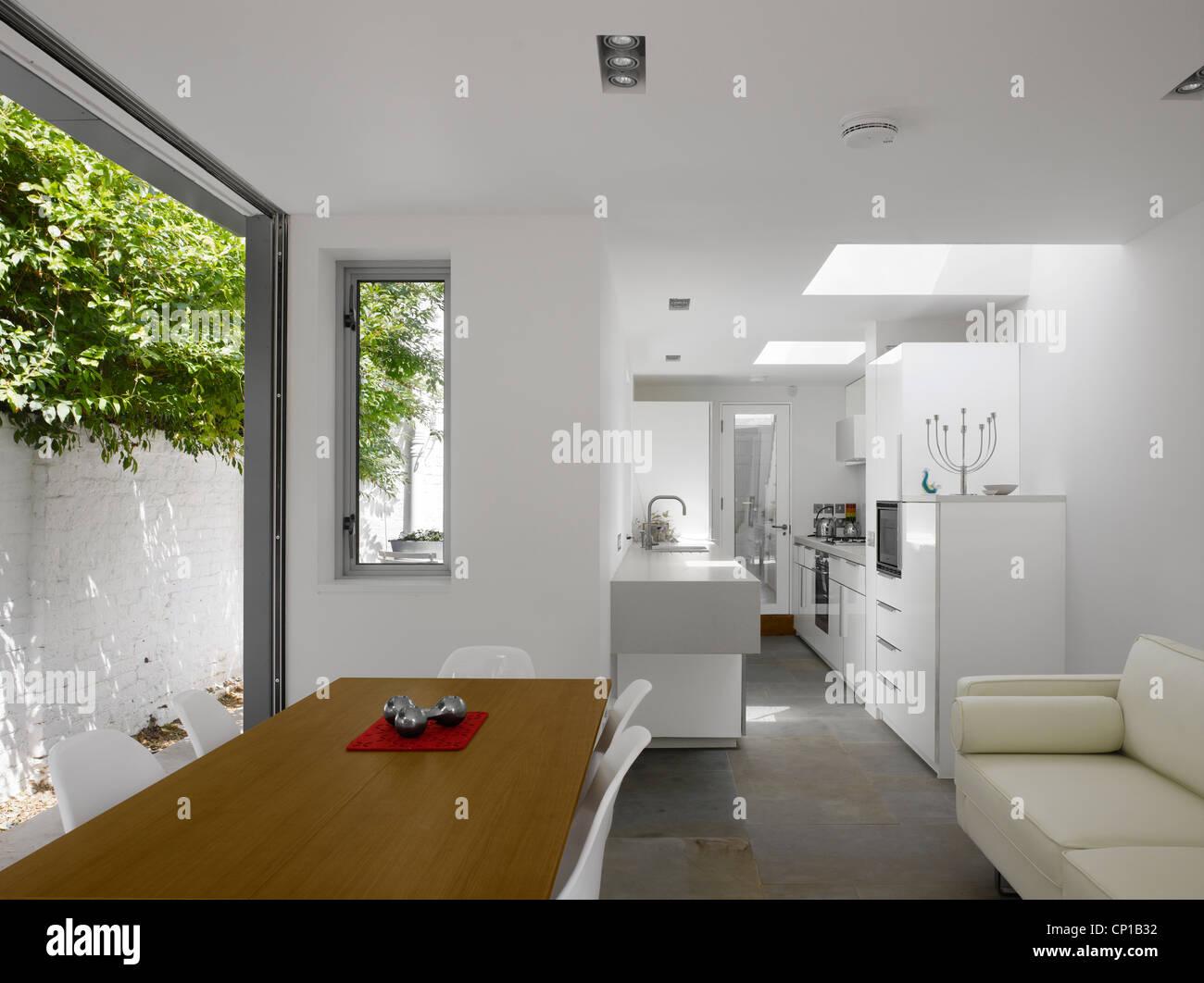 Cocina abierta extensión por Paul Archer Diseño, Londres, Reino ...