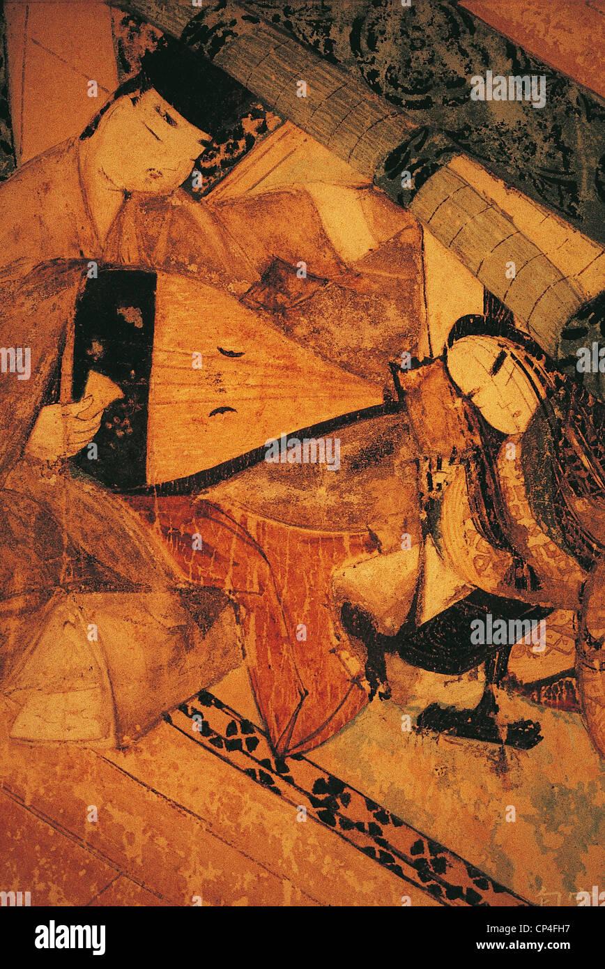 El museo de arte Nagoya en Japón Tokugawa Imagen De Stock