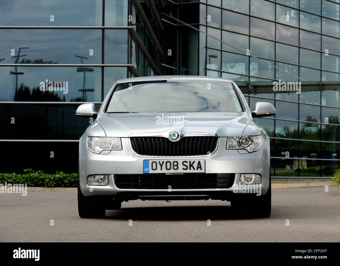 2008 Skoda excelente Imagen De Stock