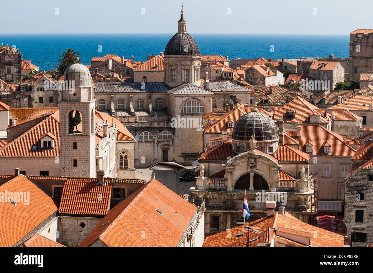 Dubrovnik, Croacia, Europa Foto de stock