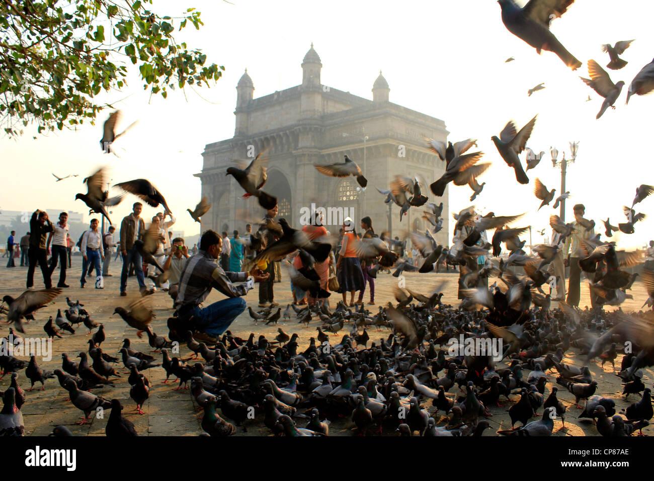 Puerta de la India, Mumbai, India Imagen De Stock