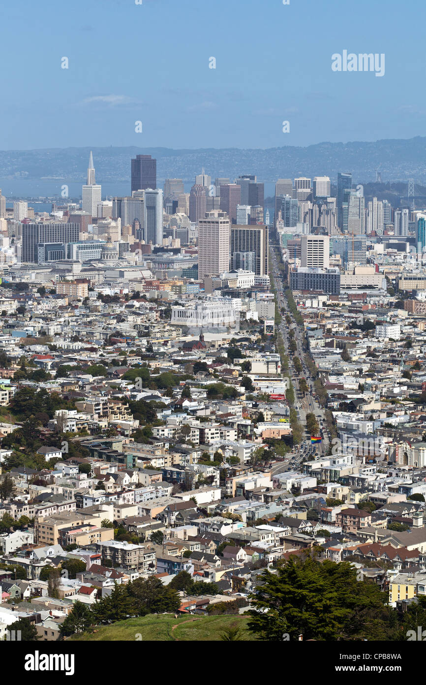 San Francisco, California, EUA América turismo turist panorama Imagen De Stock