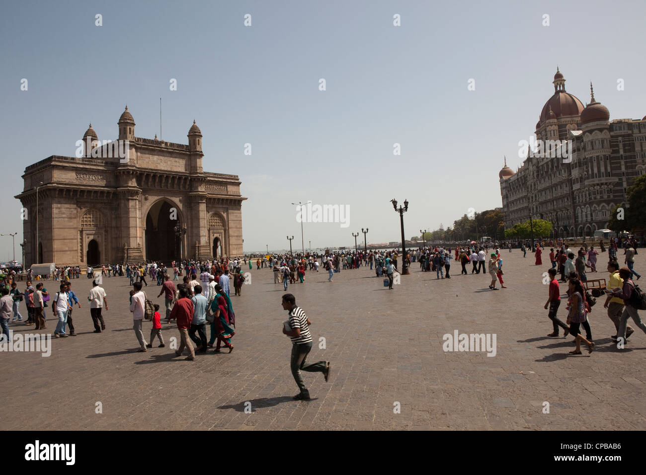 Puerta de entrada a la India - Mumbai (Bombay) Imagen De Stock