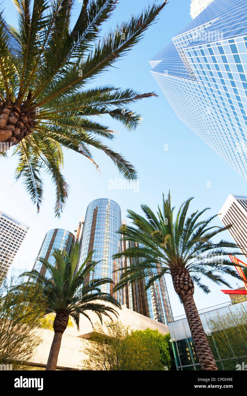 En el centro de la ciudad, Los Angeles, California, Estados Unidos de América, América del Norte Imagen De Stock
