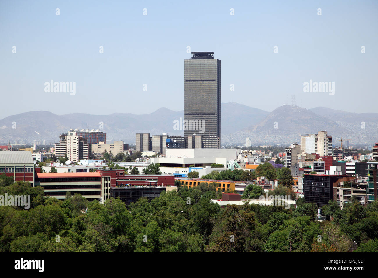 El horizonte de la Ciudad de México, Ciudad de México, México, América del Norte Imagen De Stock