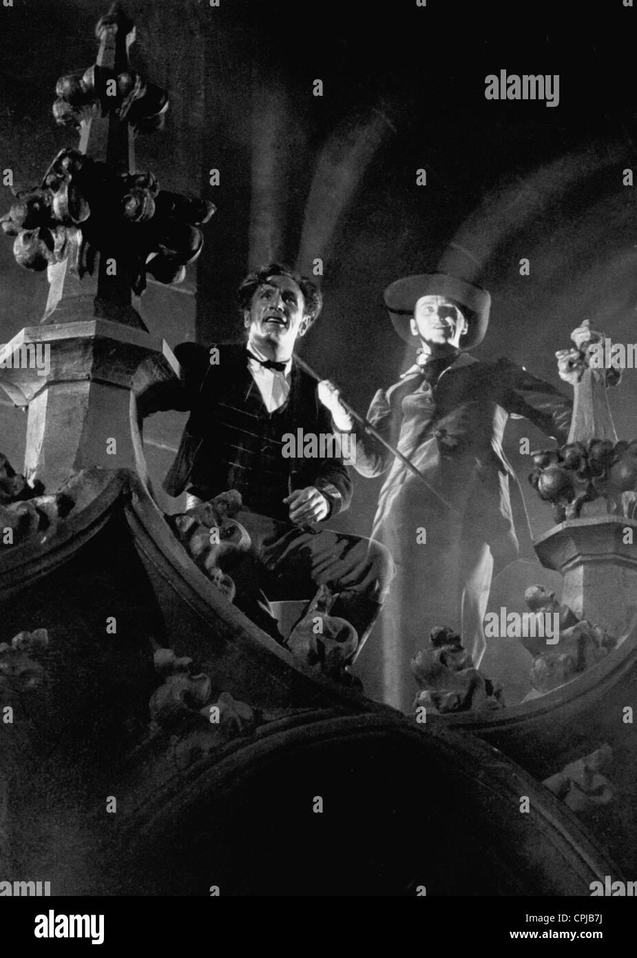 """Bernhard Minetti en """"El Emperador de California', 1936 Foto de stock"""
