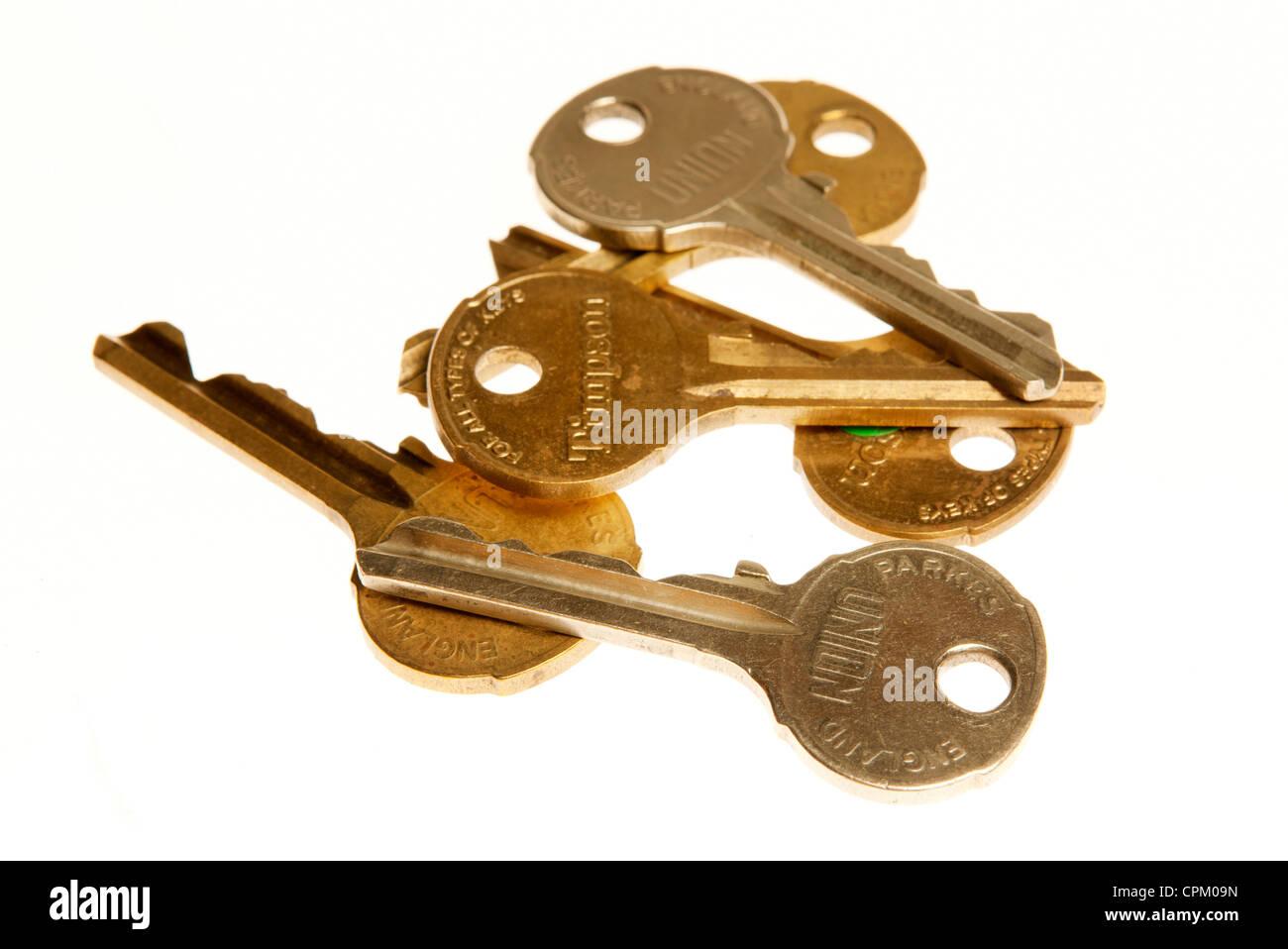 Manojo de llaves Imagen De Stock