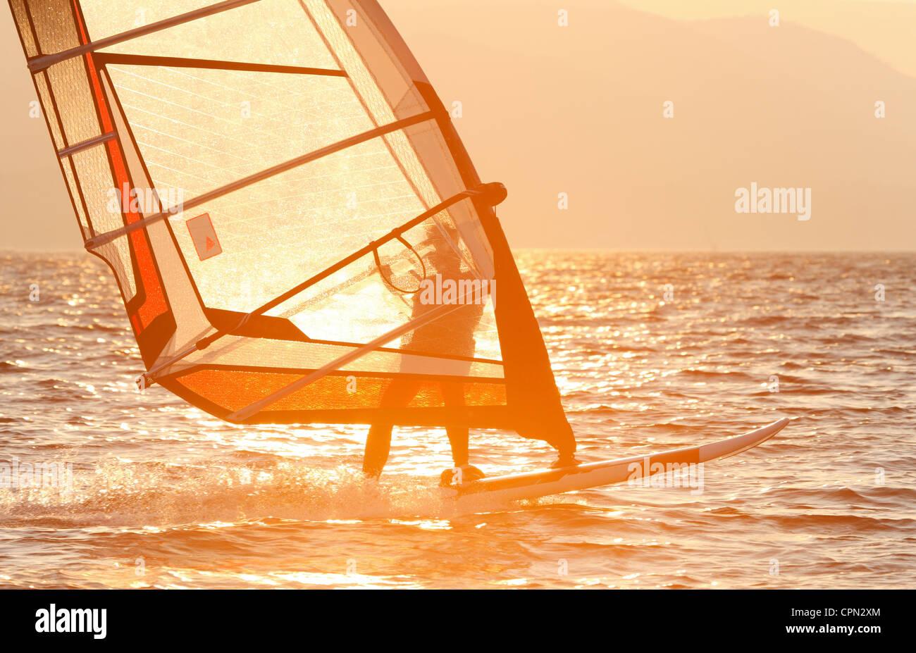 Windsurf Imagen De Stock