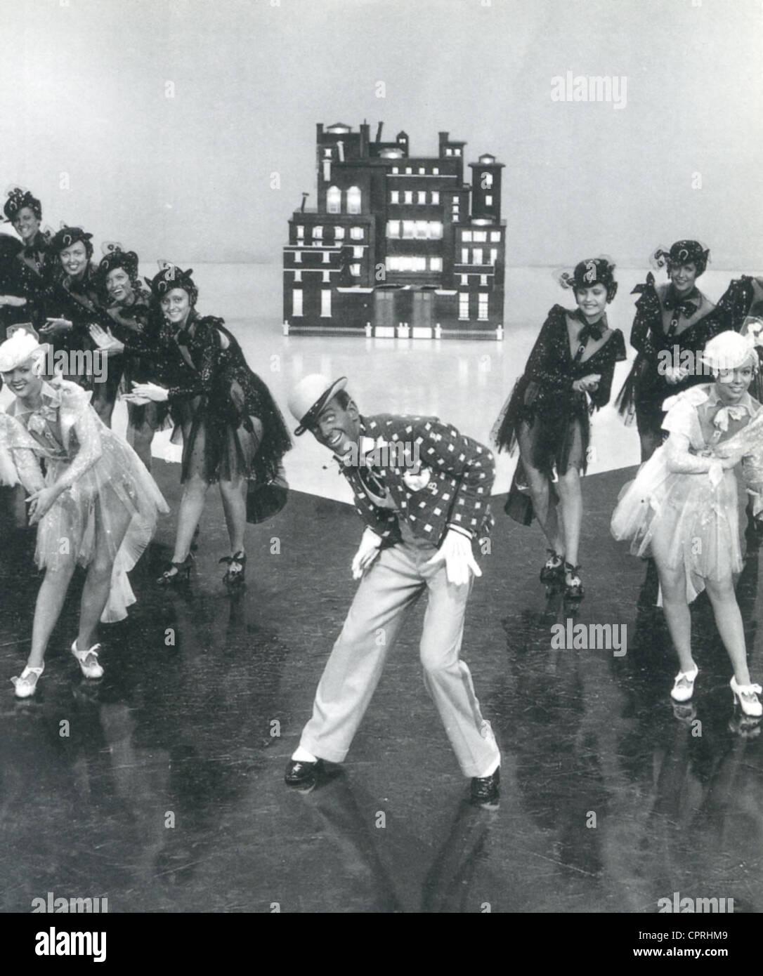 """Tiempo de giro de 1936 RKO film con Fred Astaire en blackface para el """"Bojangles de Harlem' número Imagen De Stock"""
