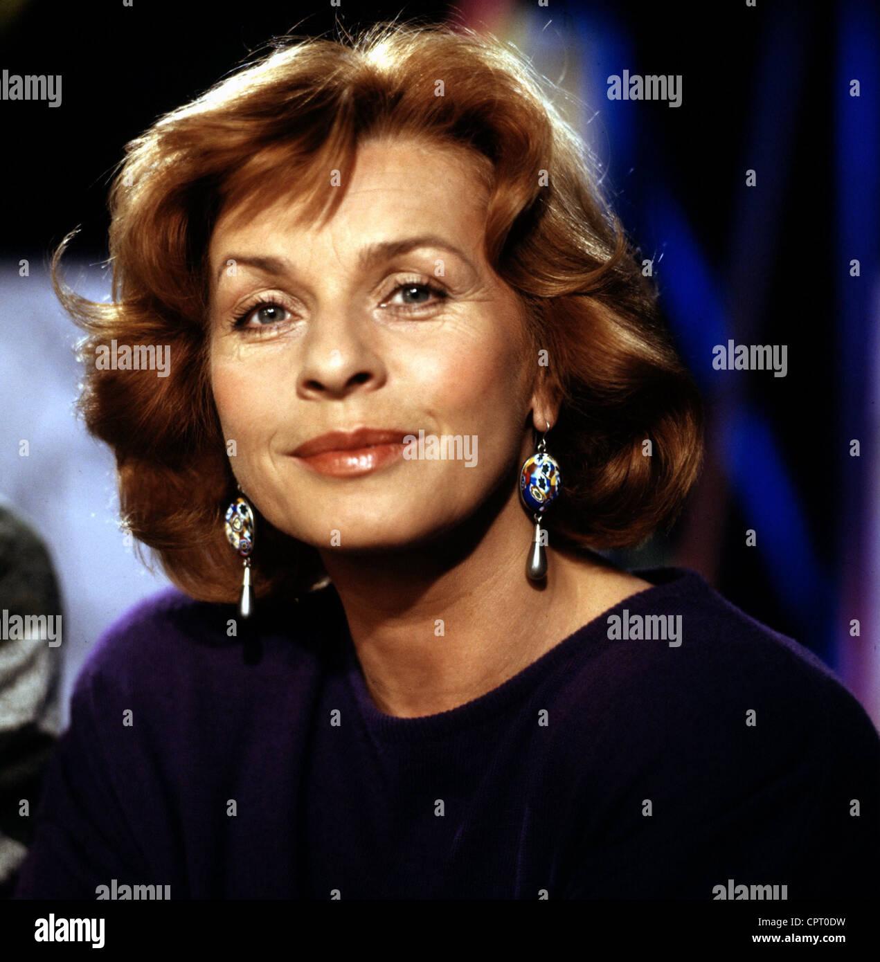 Berger, Senta, * 13.5.1941, actriz austriaca, retrato, 1989, Foto de stock