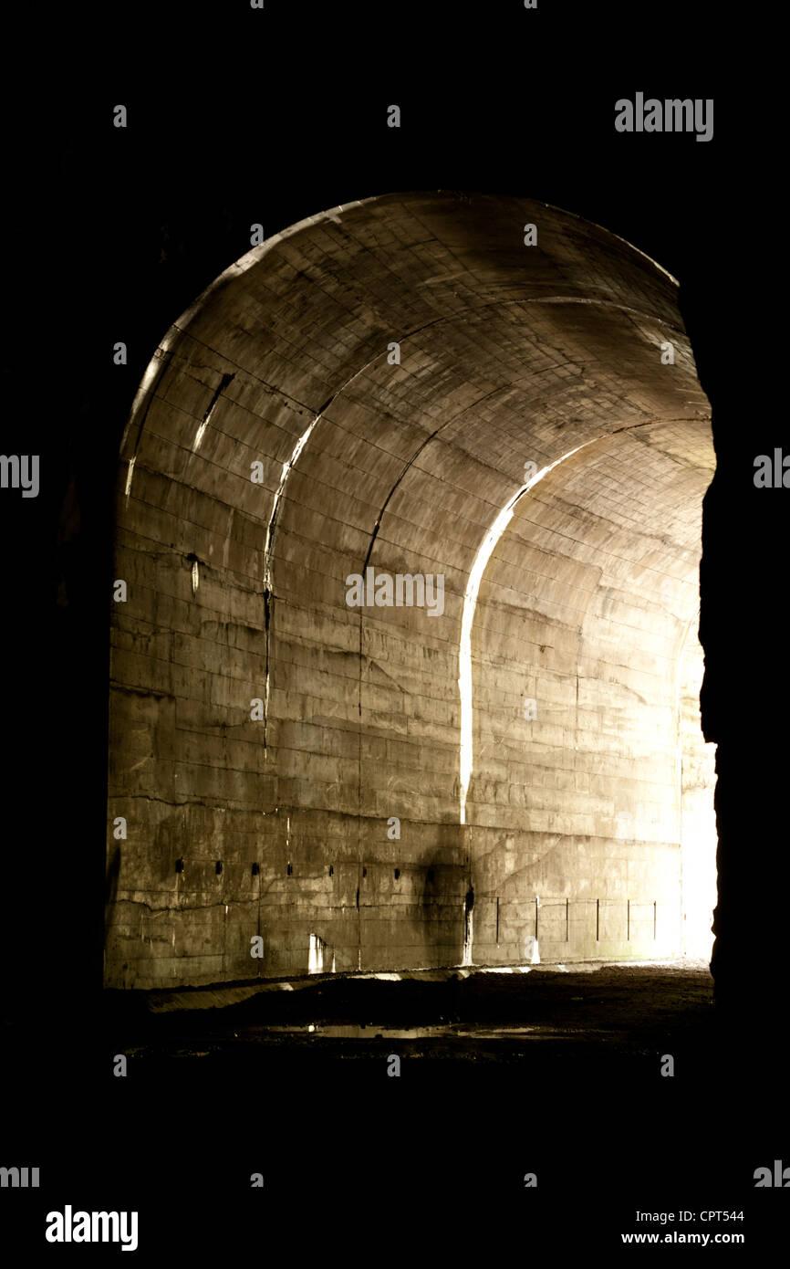Othello túneles - Coquihalla Canyon Parque Provincial - esperanza, British Columbia, Canadá Foto de stock