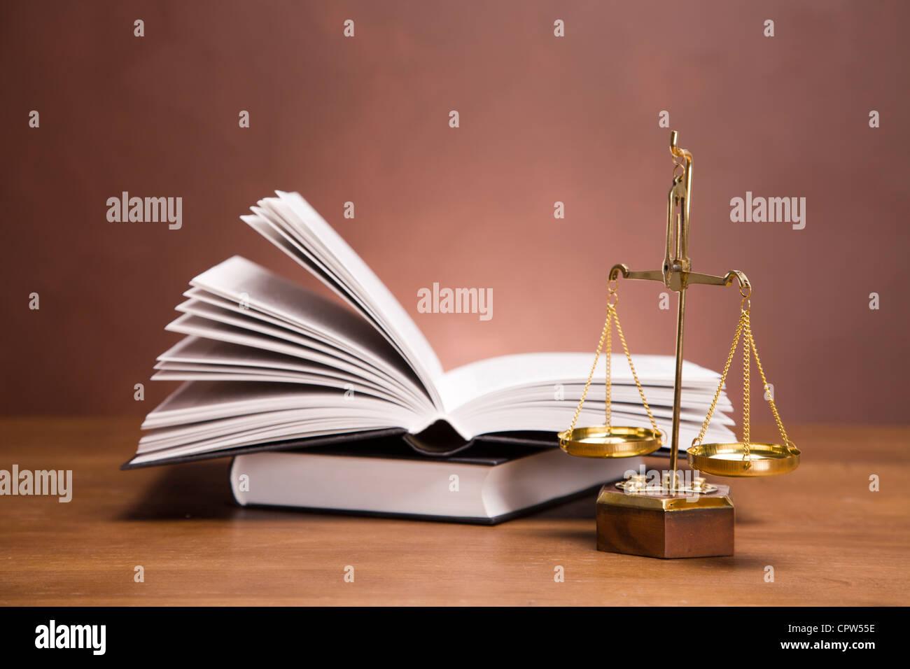 concepto de derecho RM Foto de stock