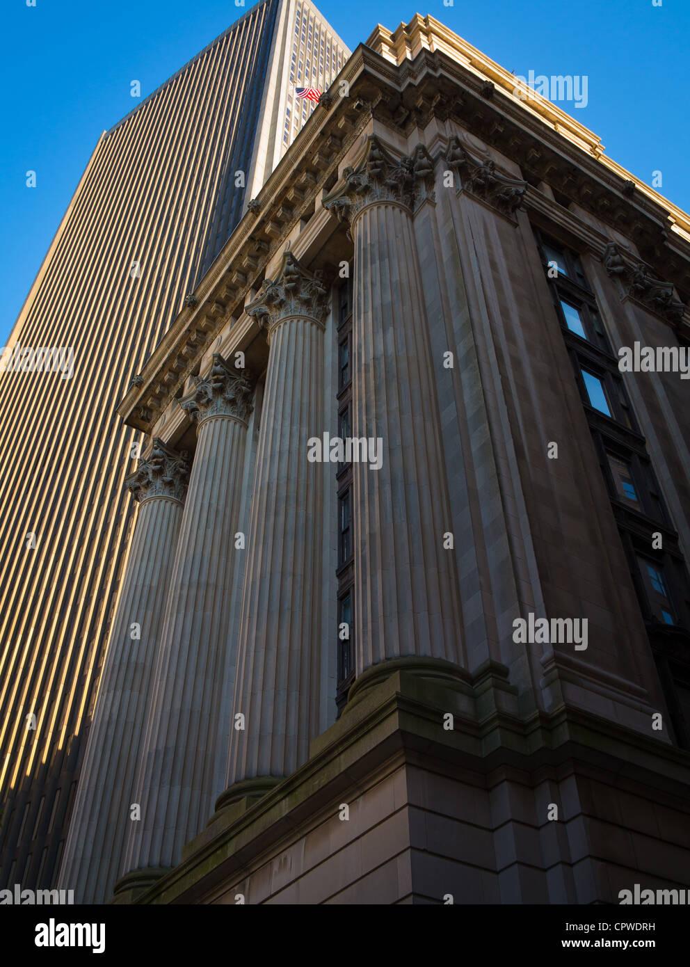 Edificio del Departamento Escolar en Boston. Imagen De Stock