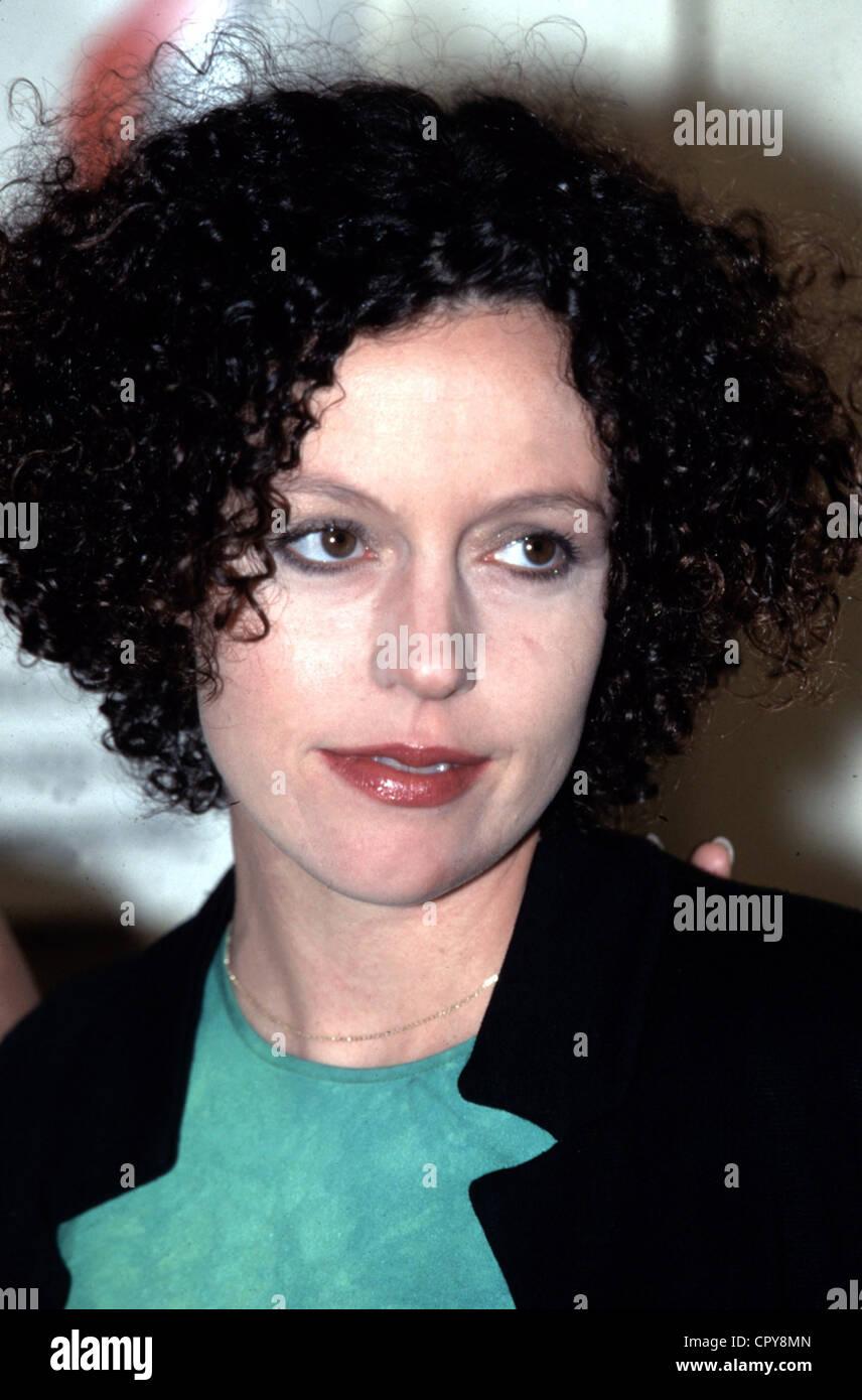 Maria Schrader, * 27.9.1965, la actriz alemana, retrato, 1998 Imagen De Stock