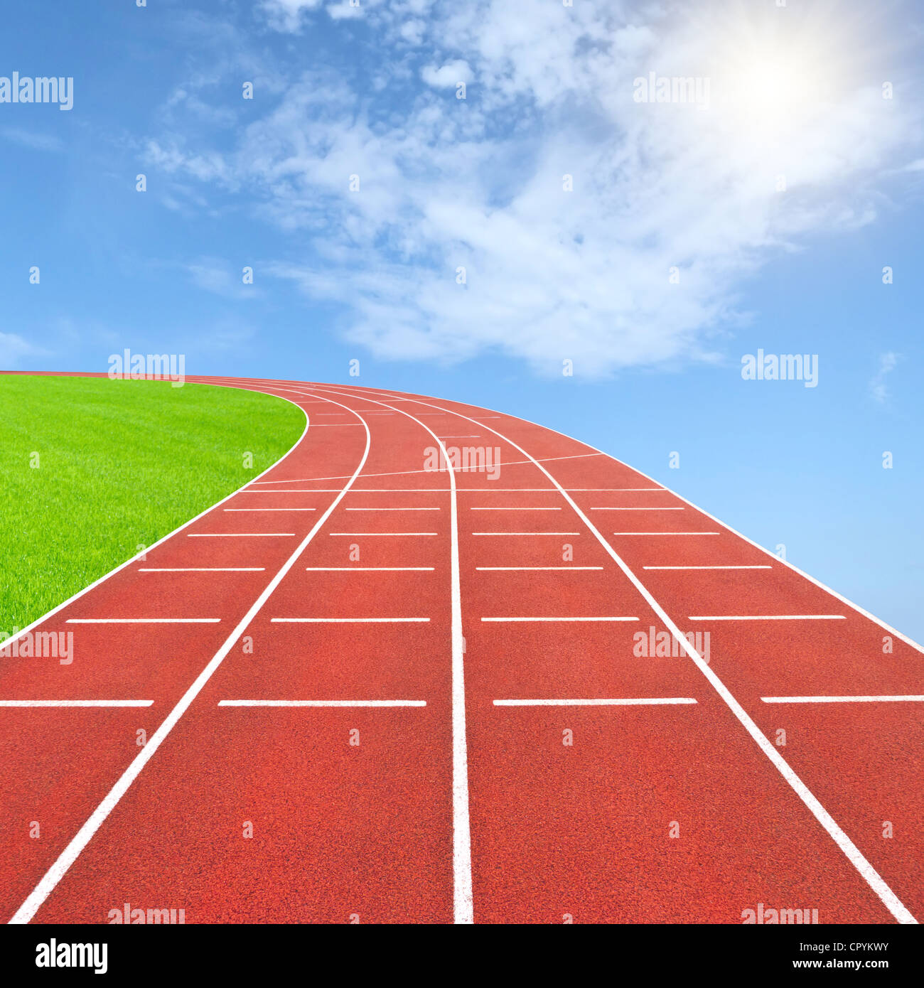 Plantilla de Juegos Olímpicos de verano Foto de stock