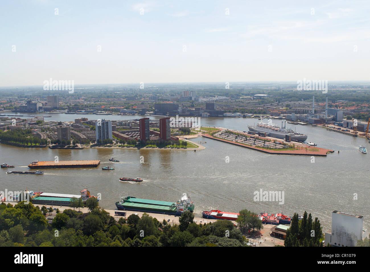 Ciudad de Rotterdam, Holanda, los Países Bajos, Europa Imagen De Stock