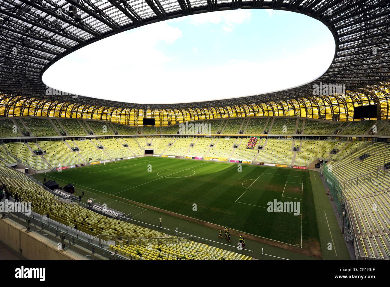 PGE Arena, estadio de fútbol, Gdansk, Polonia, Europa Imagen De Stock