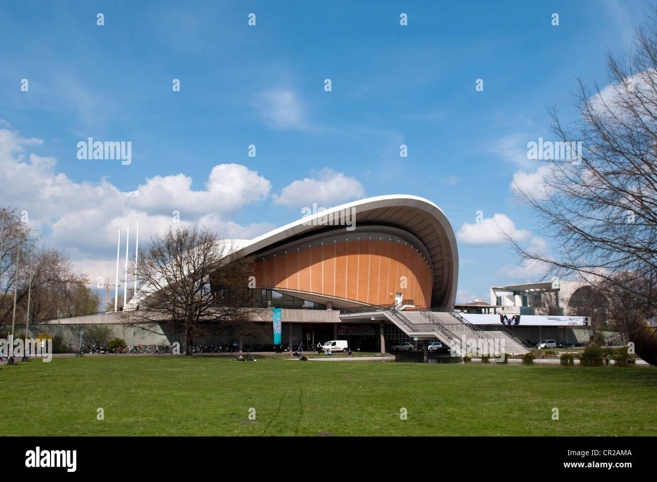Casa de las Culturas del Mundo de Berlín en Alemania Imagen De Stock