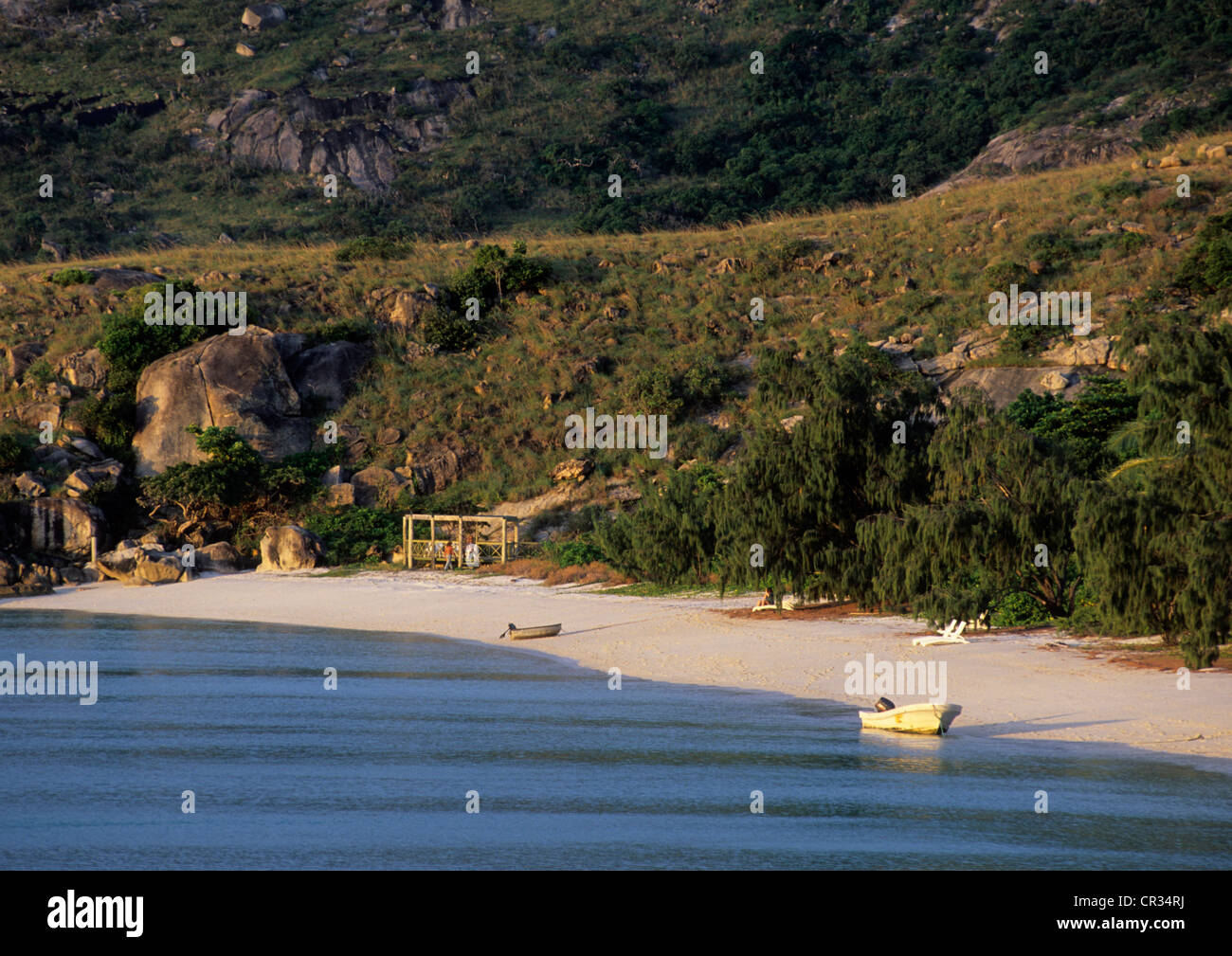 Australia, Queensland, una de las playas de la Isla Lizard Imagen De Stock