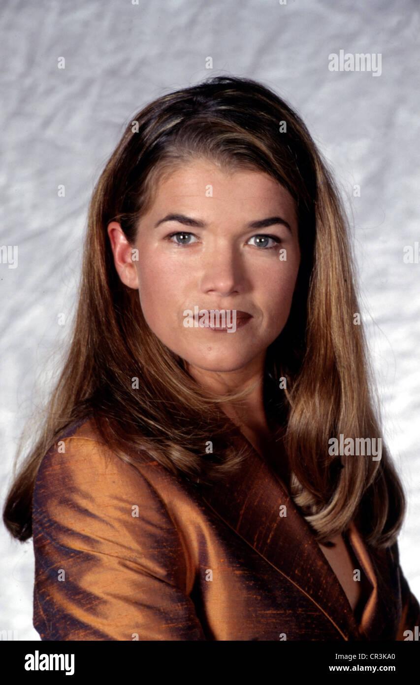 , Anke Engelke, * 21.12.1965, Alemán de comediante, actriz, retrato, 1998 Imagen De Stock