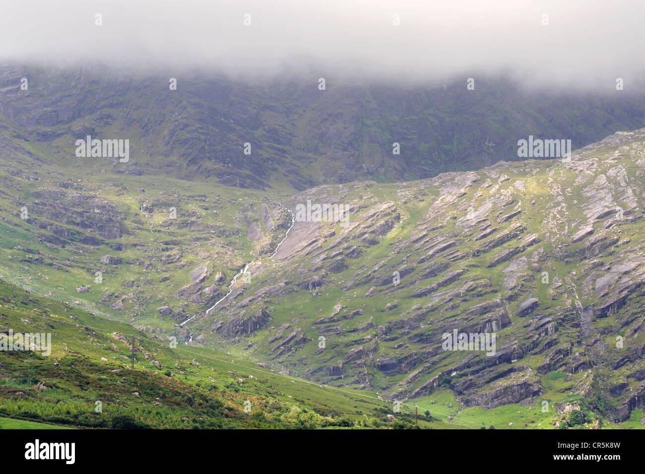 Adrigole, península de Beara, West Cork, Irlanda Foto de stock
