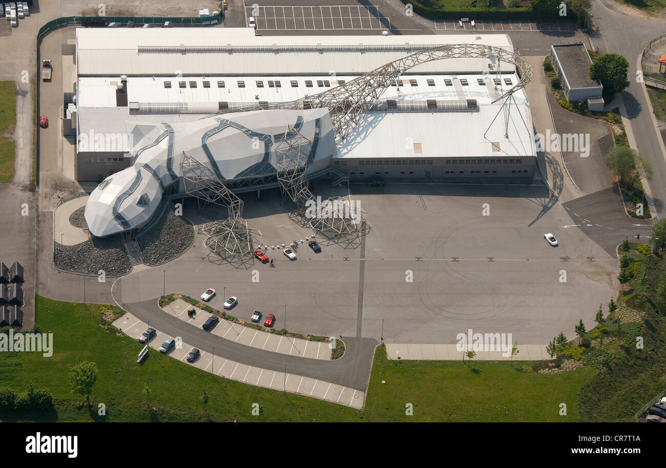 Wiesmann la fabricación de automóviles, Duelmen, fabricante de coches deportivos, taller en la forma de Imagen De Stock