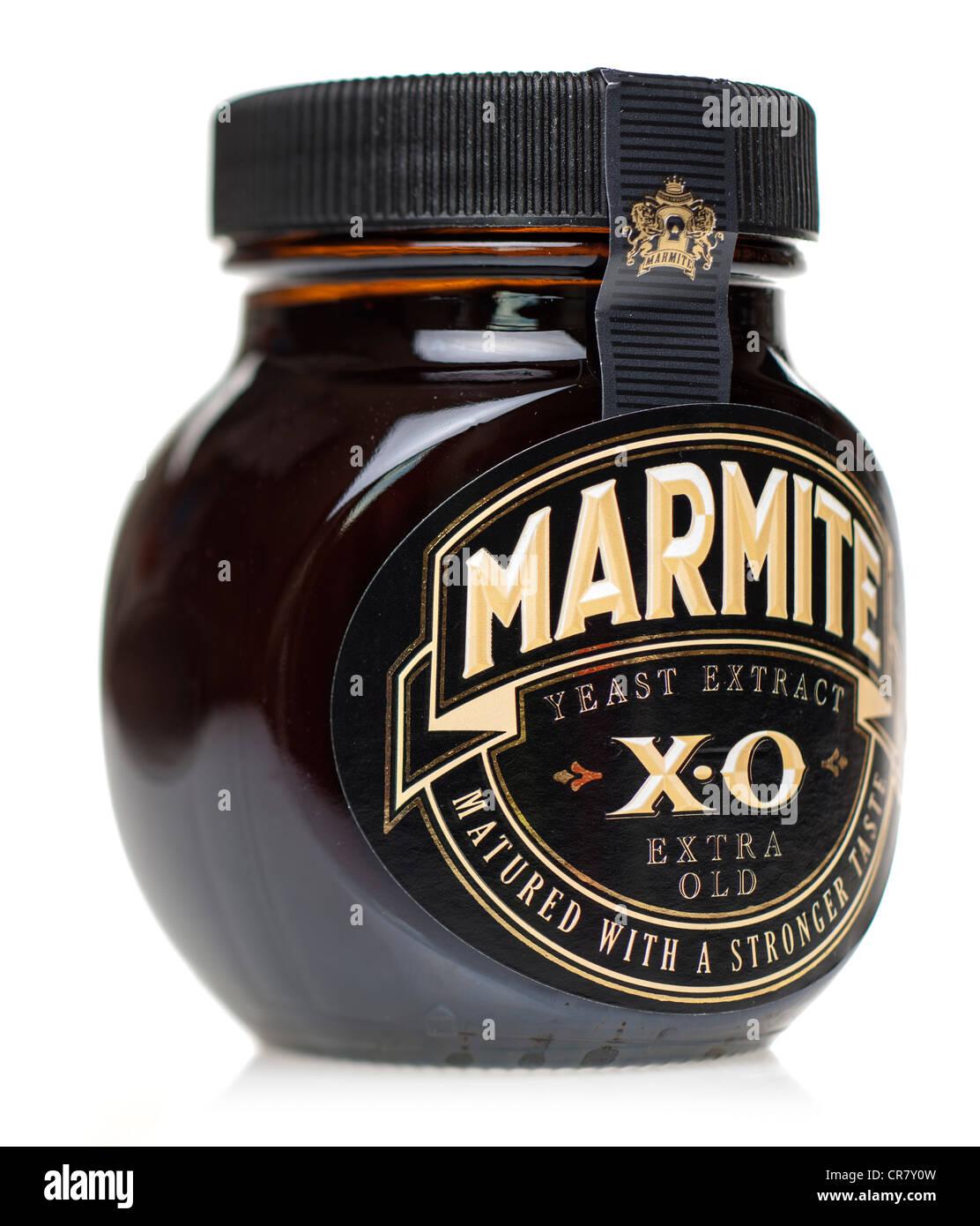 Tarro de Marmite X.O extra viejo madurado extracto de levadura Imagen De Stock