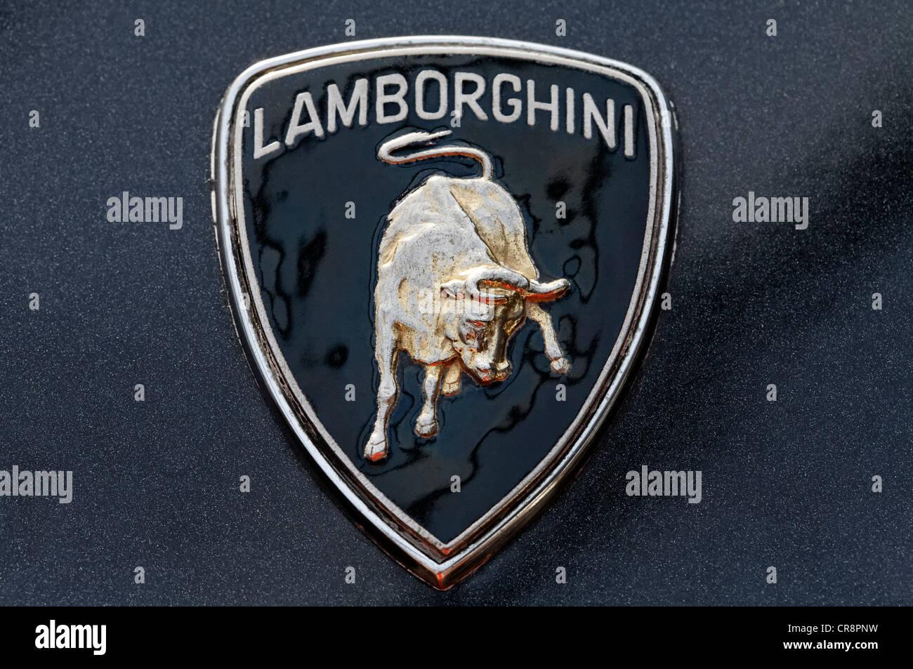 Antiguo Logotipo De Lamborghini El Logotipo Con La Imagen De Un