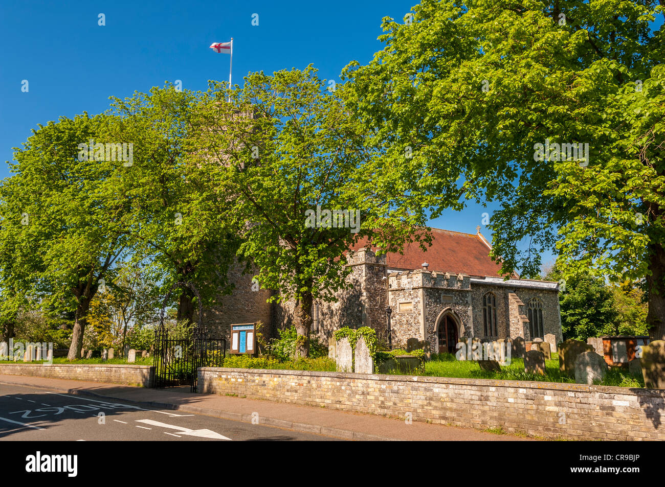 La Iglesia de la Santísima Trinidad en Bungay , Suffolk , Inglaterra , Gran Bretaña , Reino Unido Imagen De Stock