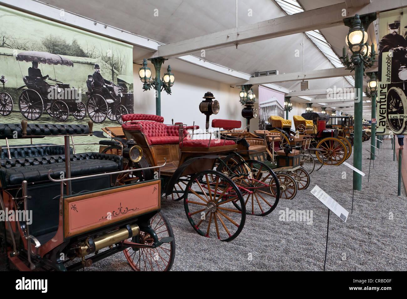 Automóviles, Colección Schlumpf, Cité de l'Automobile, Museo Nacional, Museo Nacional del Automóvil, Imagen De Stock