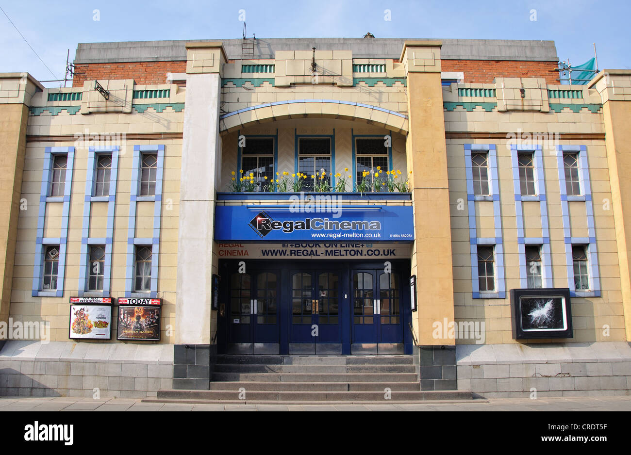 Regal Cinema, King Street, Melton Mowbray, Leicestershire, Inglaterra, Reino Unido. Imagen De Stock