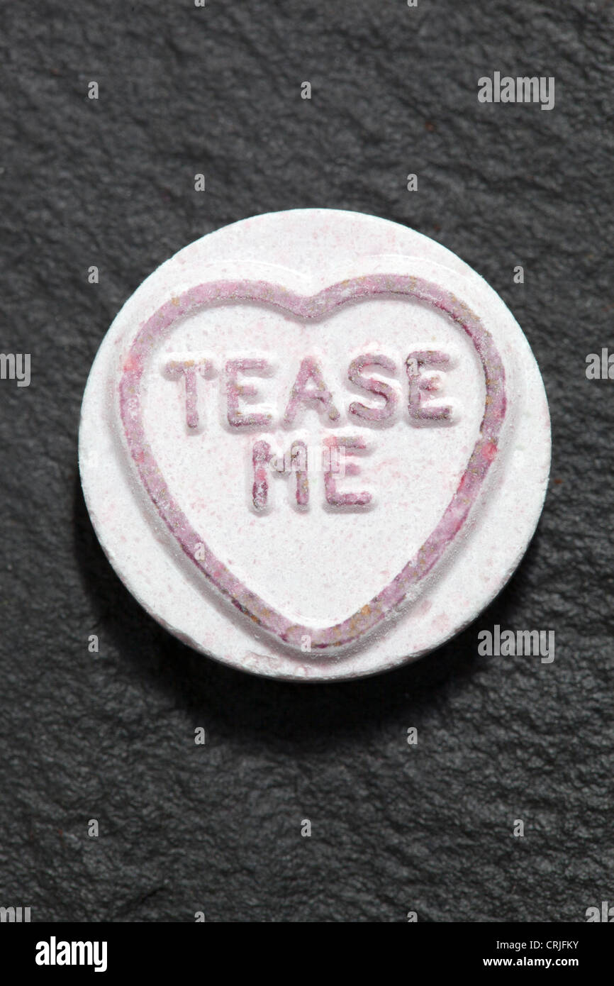 Amor dulce corazón Foto de stock