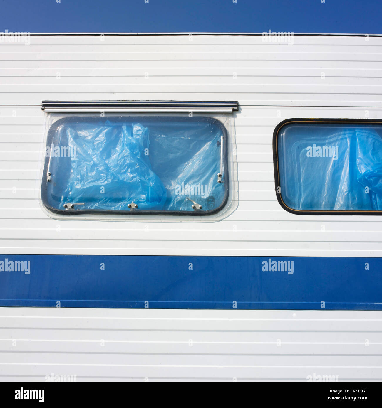 Ventanas de caravanas Imagen De Stock
