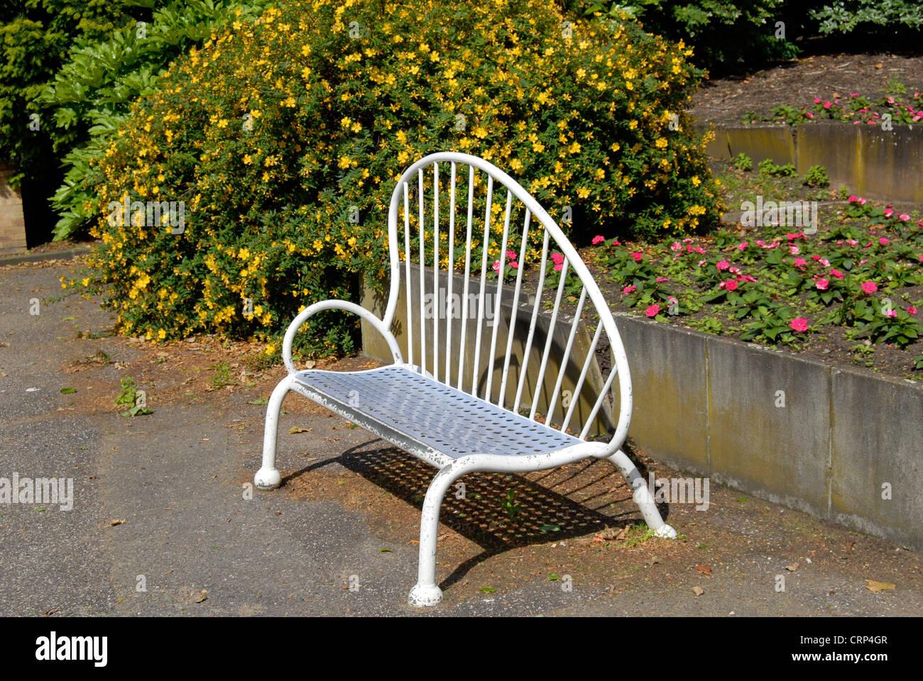 Antiguo Jardín Inglés en Battersea Park Imagen De Stock
