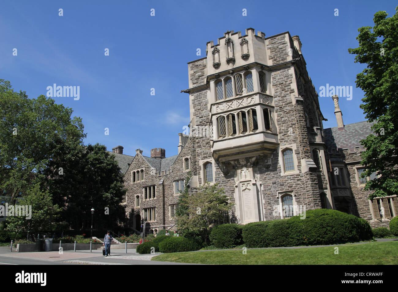 El Campus de la Universidad de Princeton Imagen De Stock