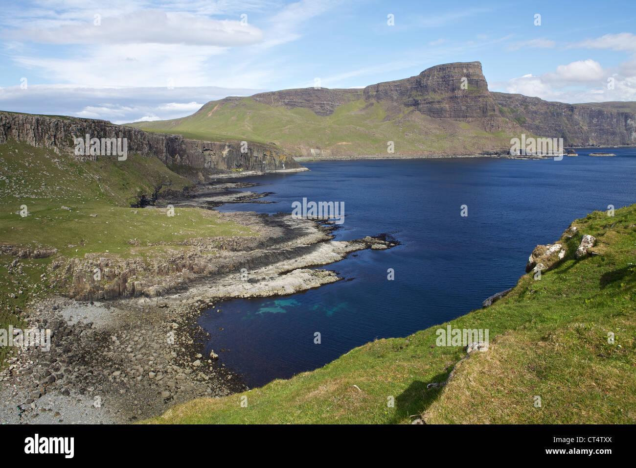 Waterstein Head, Isla de Skye y Moonen bay Foto de stock