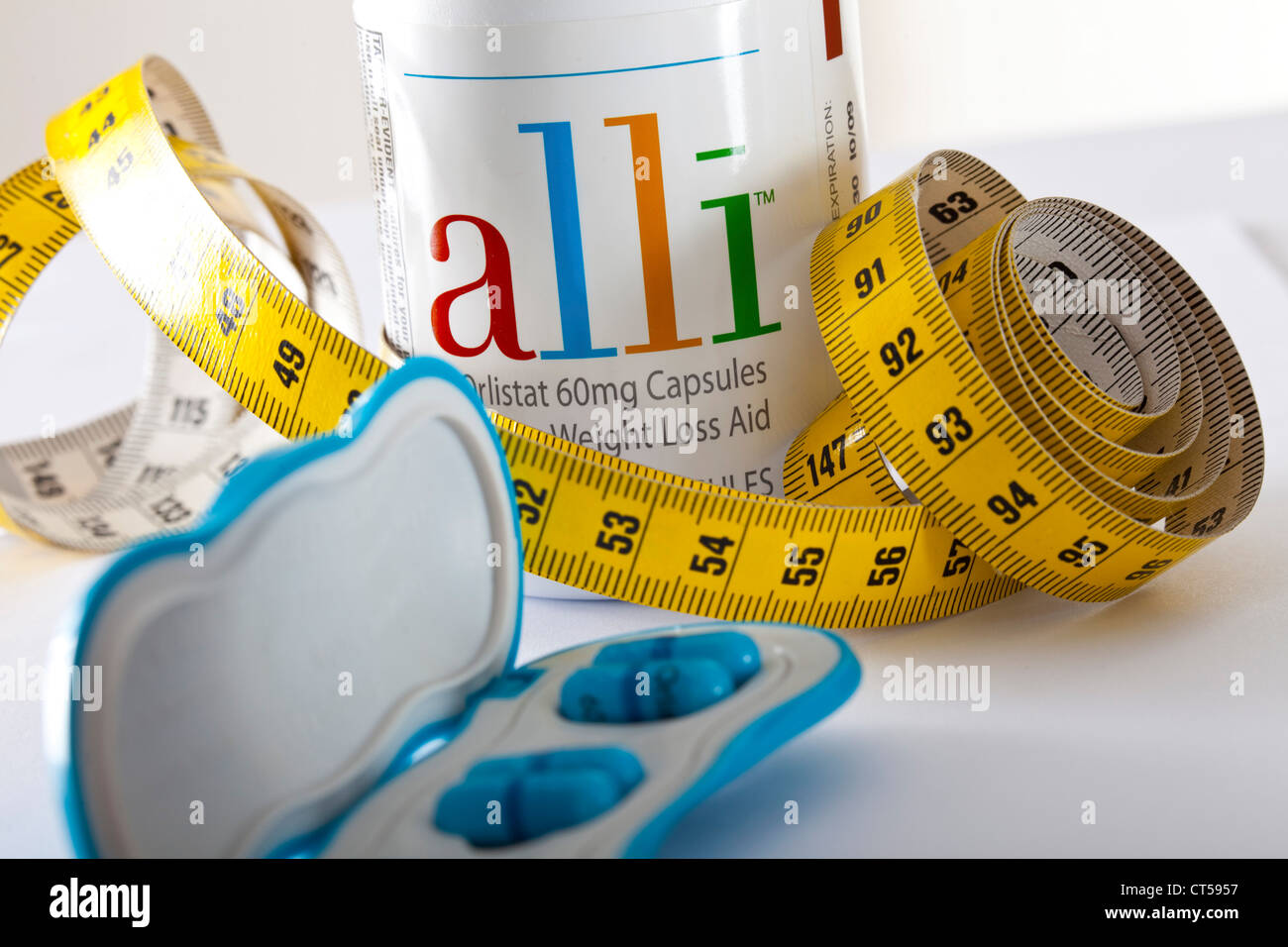 La obesidad, la terapéutica Imagen De Stock