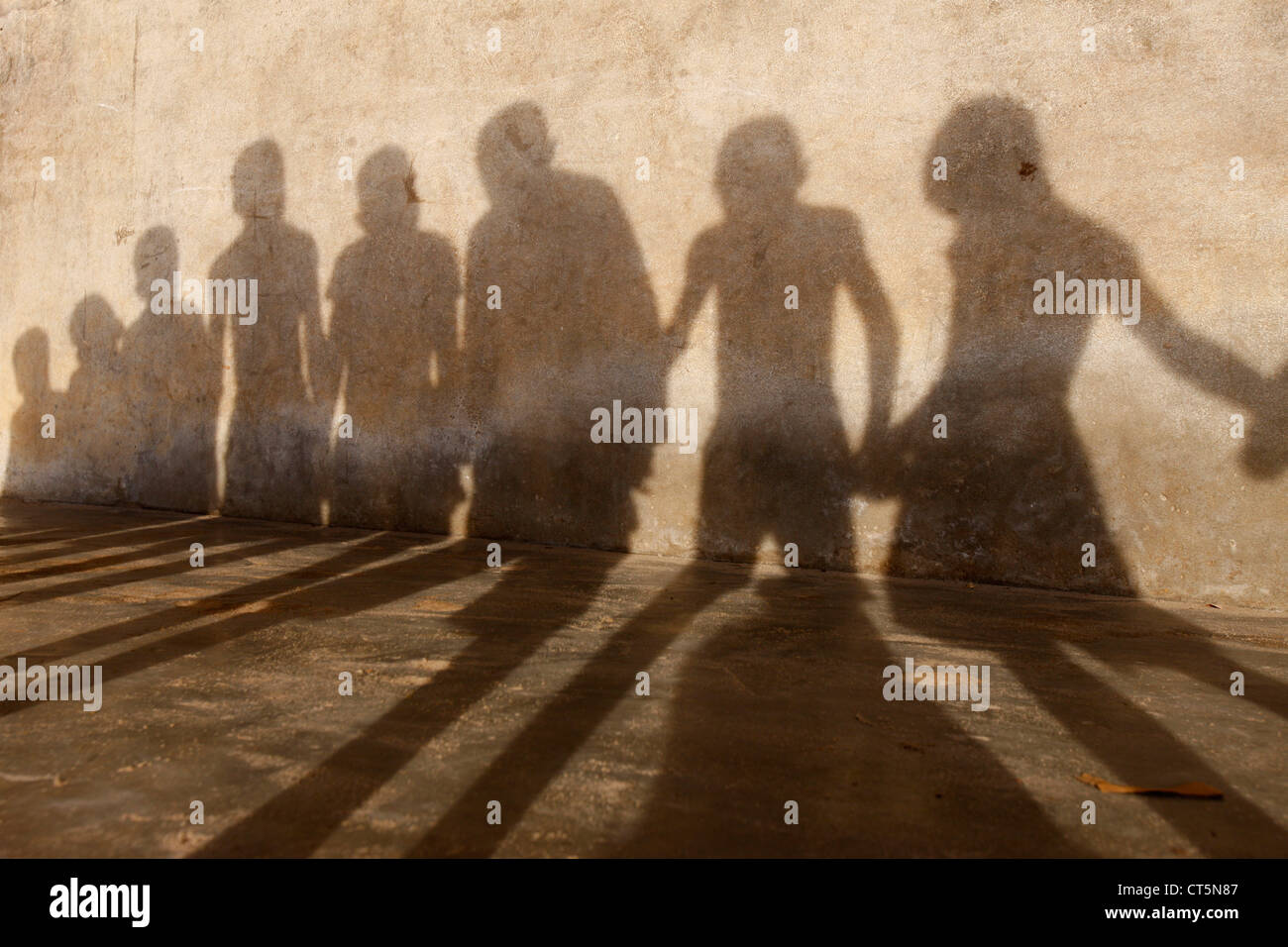 Grupo de niños Imagen De Stock