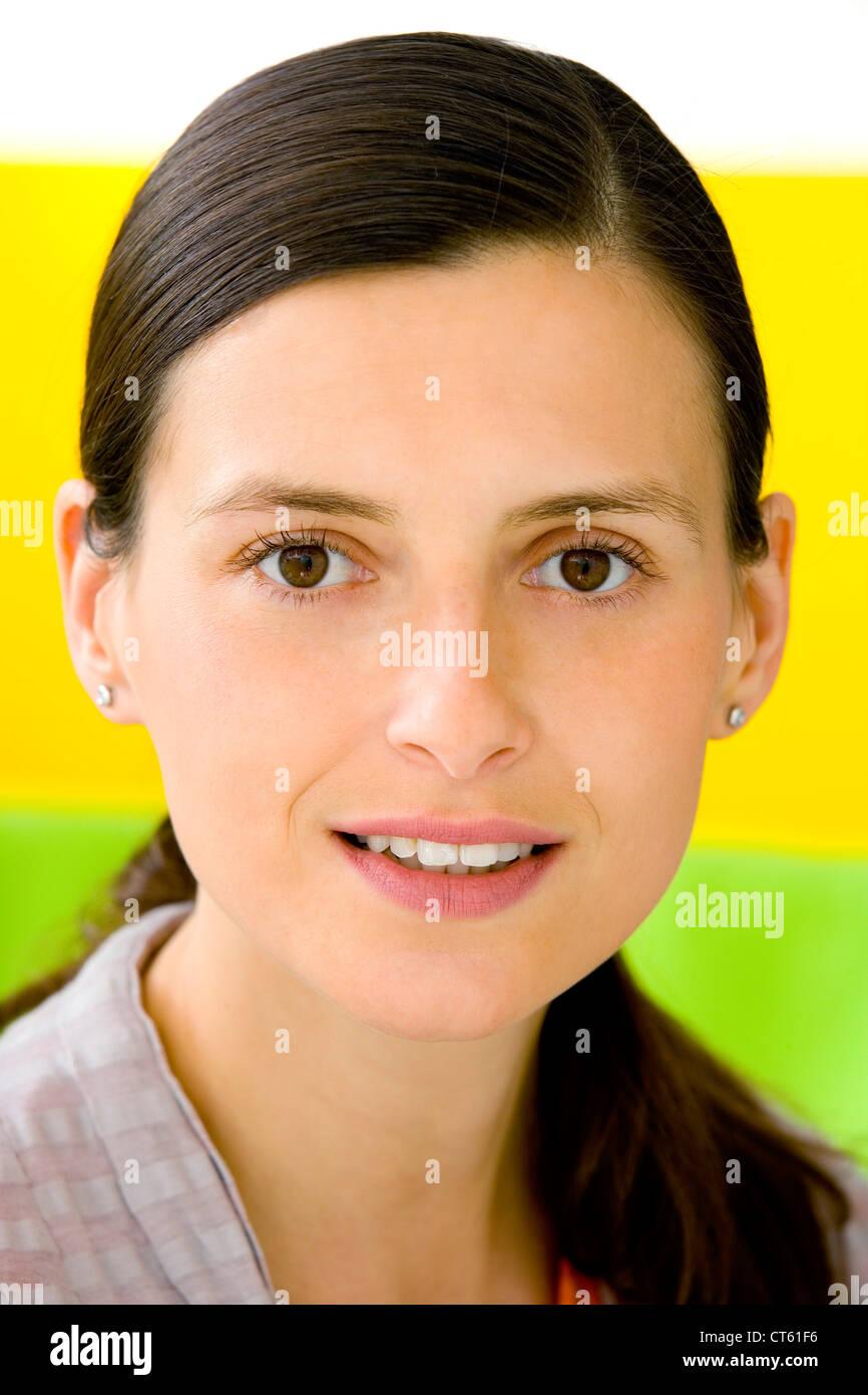 Retrato de una mujer, 30/40 Imagen De Stock