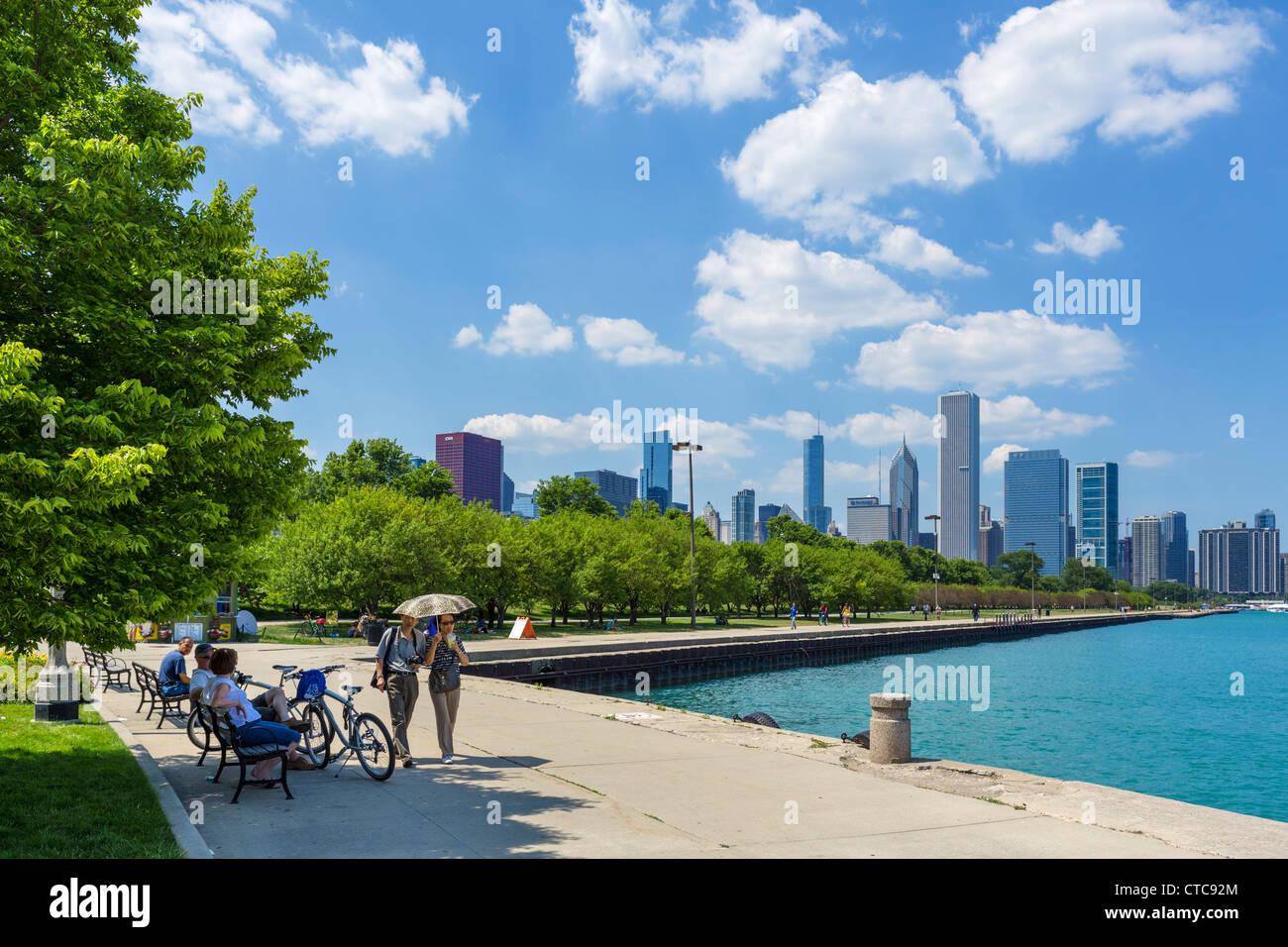 Chicago Lakefront Imágenes De Stock & Chicago Lakefront Fotos De ...