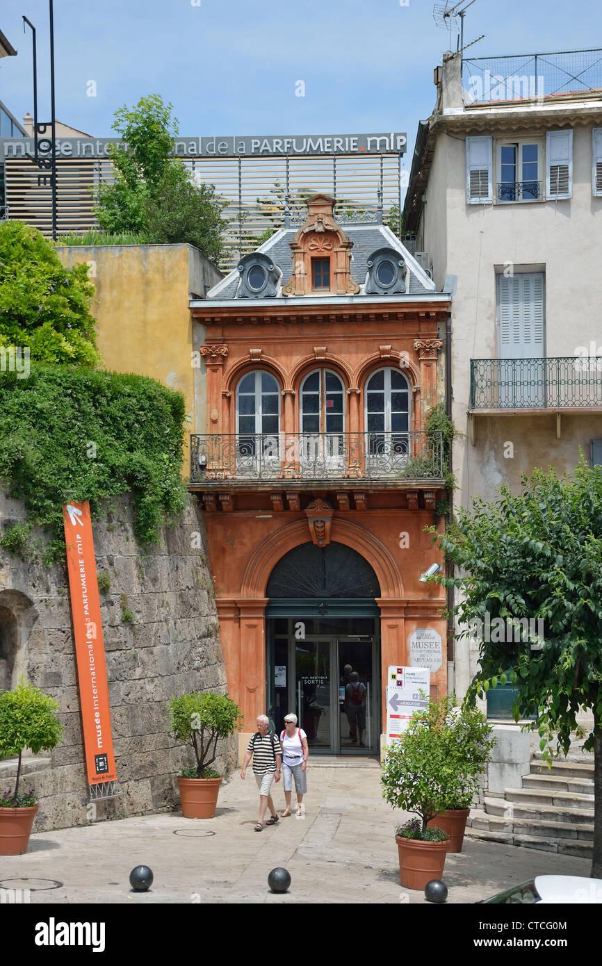 Musee de la Parfumerie (museo del perfume), Boulevard du Jeu de Ballon, Grasse, Côte d'Azur, Provence-Alpes-Côte d'Azur, Francia Foto de stock
