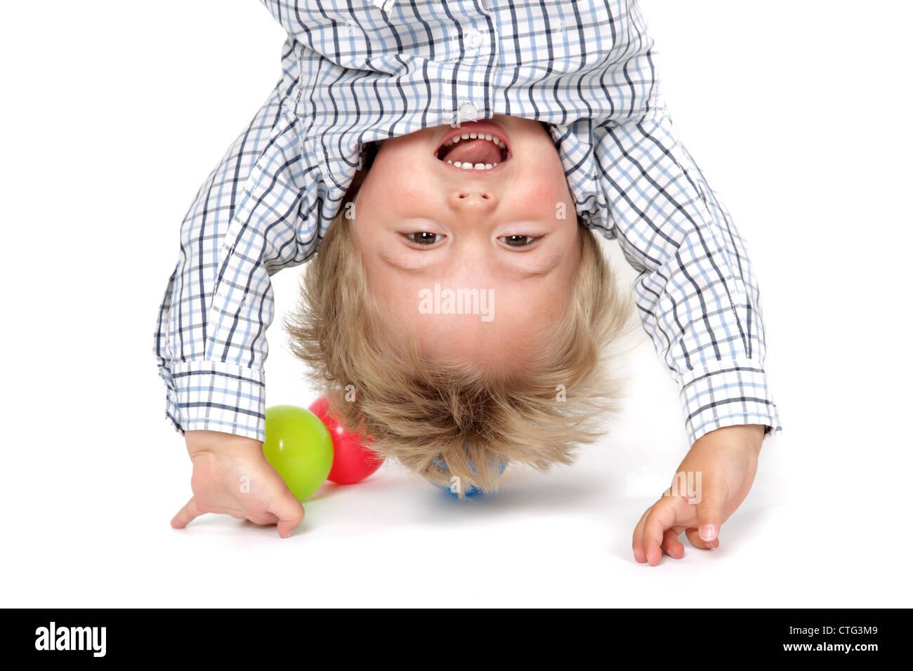 Baby Boy pino Imagen De Stock