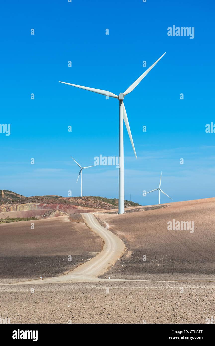 Turbinas de viento Imagen De Stock