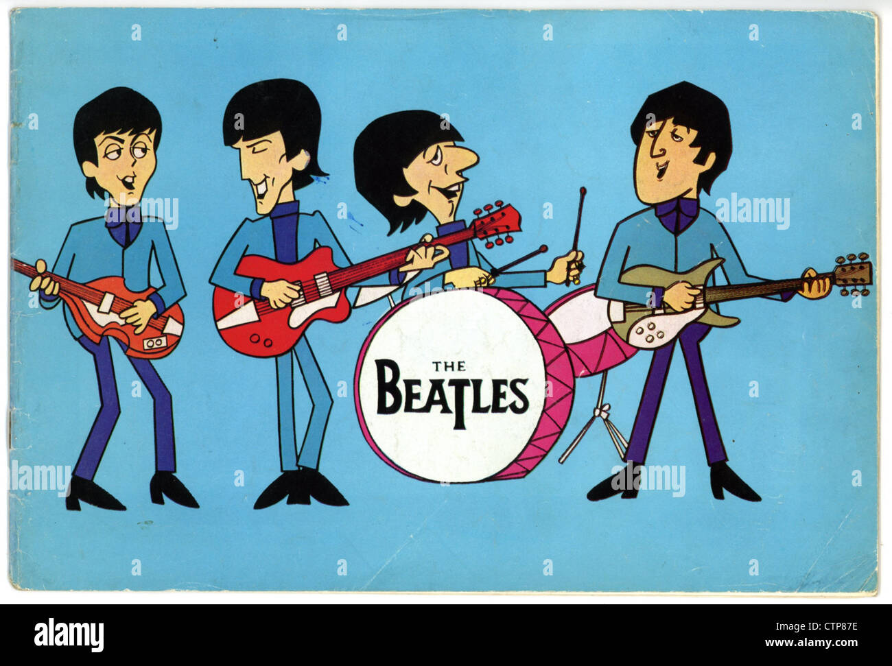 004816 - los Beatles de diciembre de 1965, Moody Blues UK Tour el programa Imagen De Stock