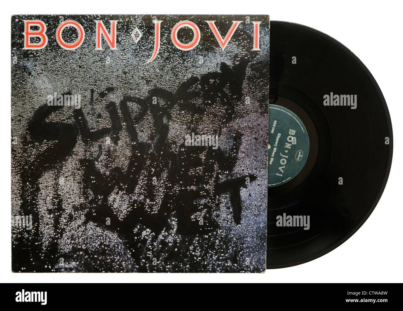 Slippery When Wet por Jon Jovi Imagen De Stock